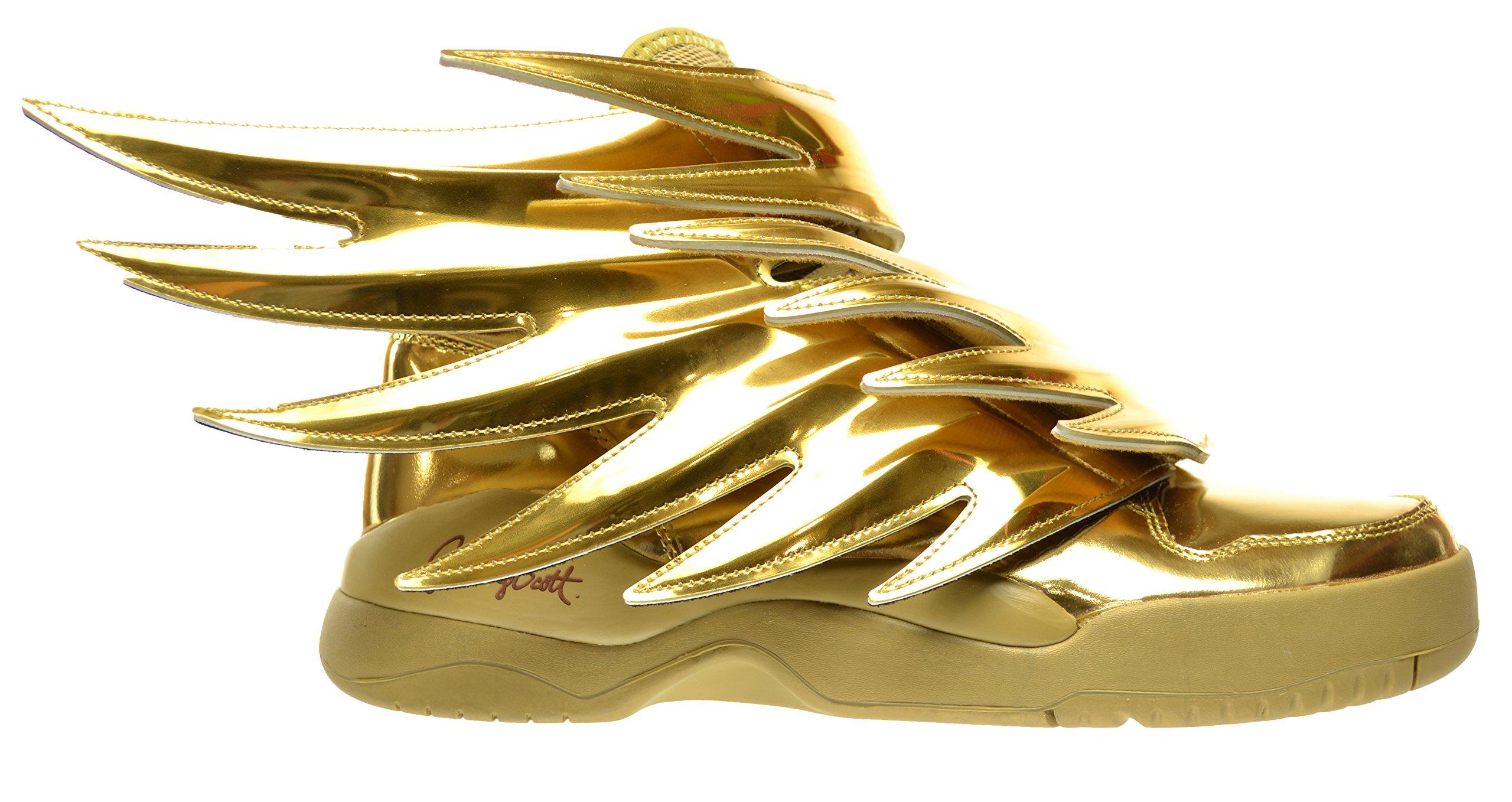 Adidas Js Wings 3 0 Gold Men S Shoes Gold Metallic B35651 Buy Online In Germany At Desertcart De Productid 163628595