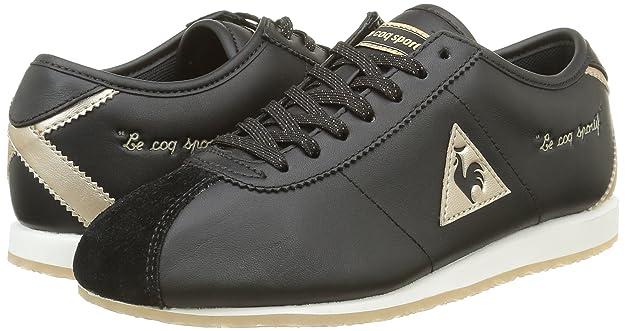 ae12b94c70b0 Le Coq Sportif Wendon W Sparkly Womens Trainers Black Gold - 38 EU   Amazon.ca  Shoes   Handbags