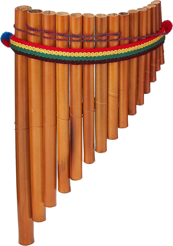 Atlas, Flauta de Pan Peruana, 15 Notas, Colores Aleatorios