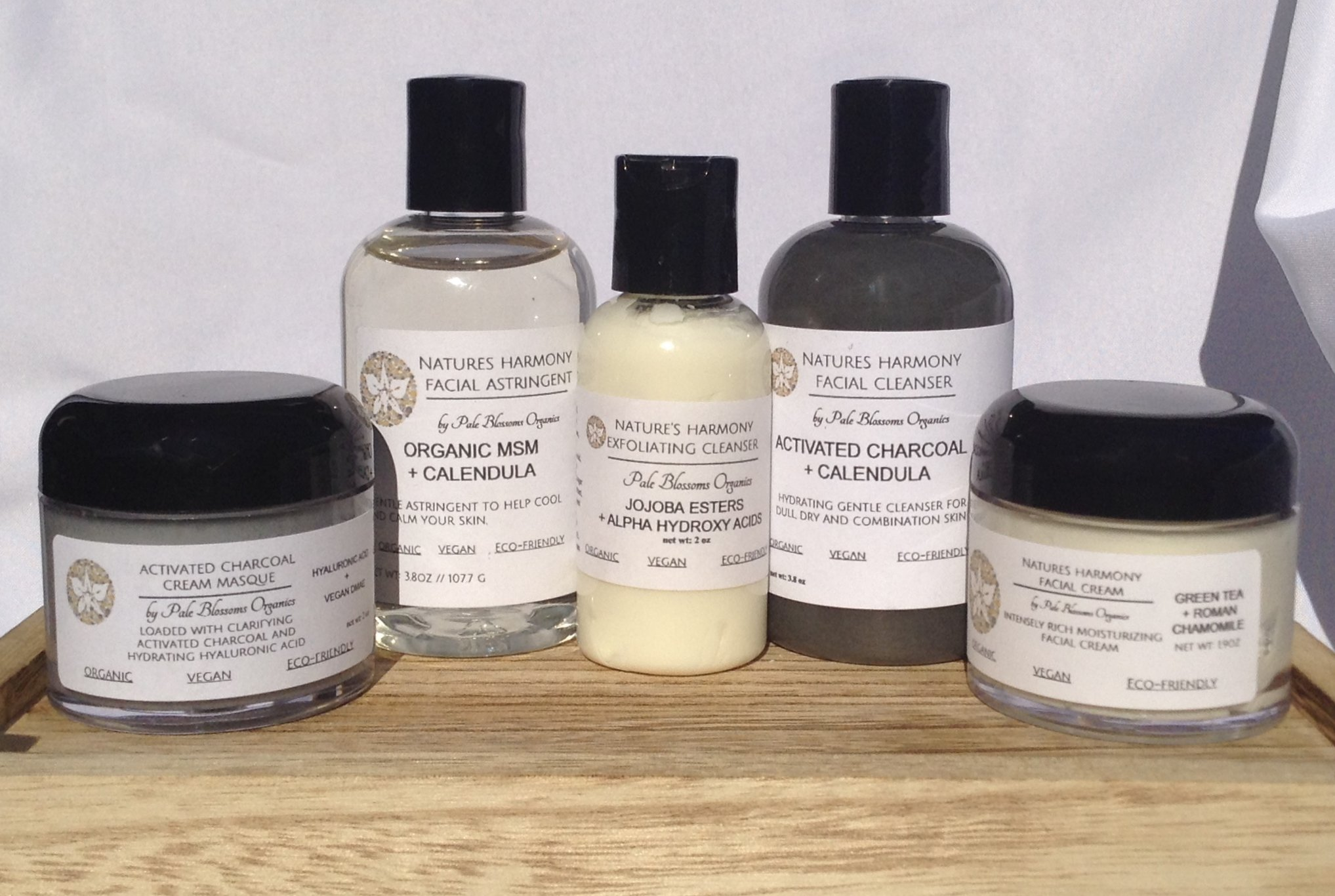 Ultimate Facial Care System by Pale Blossoms Organics