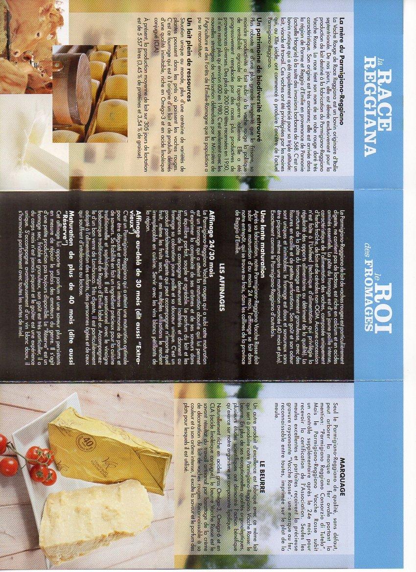 Parmigiano Reggiano PDO''VACCHE ROSSE/RED COWS'' seasoned 24/30 months, 2.2 lbs by Parmigiano Reggiano PDO Vacche Rosse (Image #2)