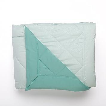 Tommy Bahama Betten Luxus Light Gewicht Zweifarbig Wendbar Blaugrun Mikrofaser Decke Hypoallergen Daunen