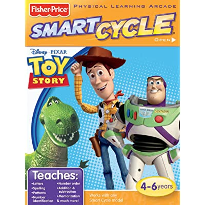 Fisher-Price Smart Cycle [Old Version] Disney/Pixar Toy Story Software Cartridge: Toys & Games