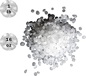 Carmel Paraffin Wax Beads, Food Grade, Canning Wax, Meets FDA Requirements, FRP (Fully Refined Paraffin), Used in a Variety of Applications Such as Canning, Food Packaging and Cosmetics (1 lb)