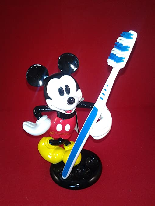 Amazon Com Disney Mickey Mouse Toothbrush Holder Home Kitchen