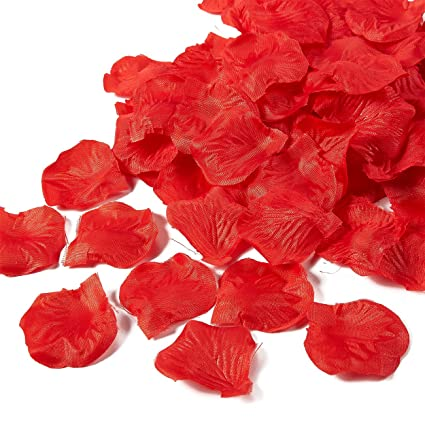 Amazon Com Rose Petals 1000 Piece Artificial Petals Silk