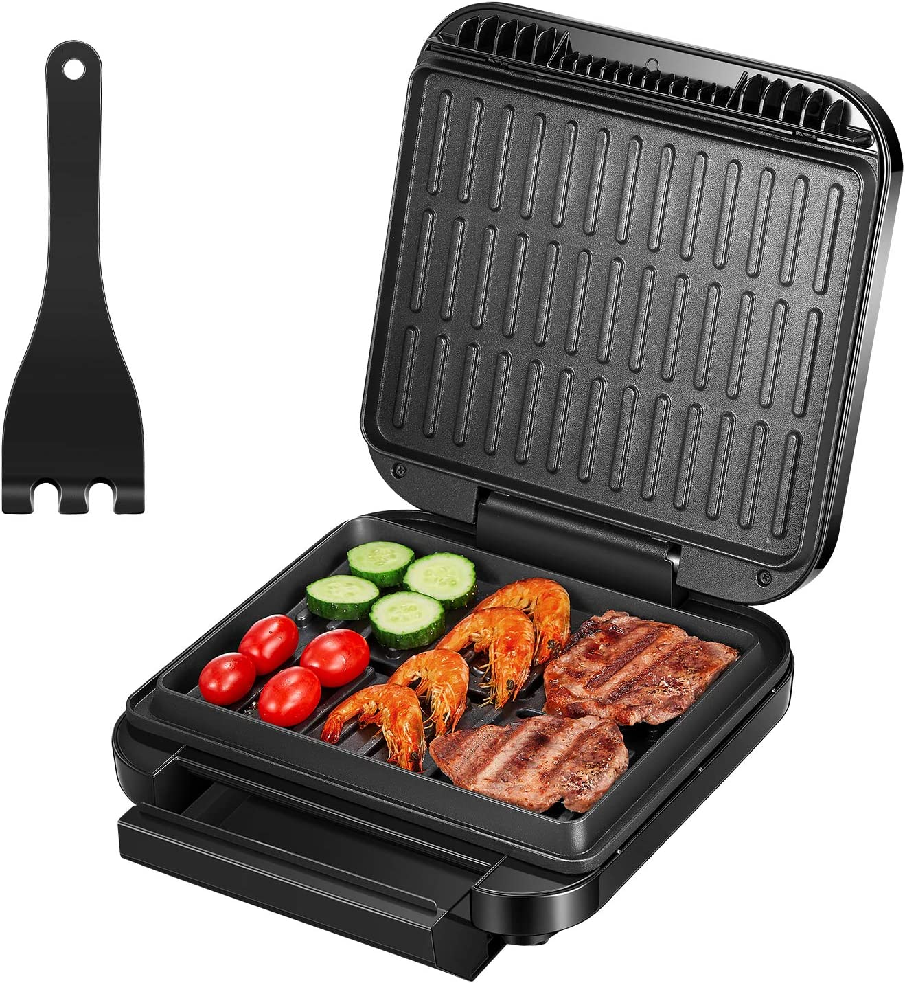 Deik 2-in-1 Electric Indoor Grill and Panini Press Grill. Best New Small Kitchen Appliances — Reviewing Indoor Grills