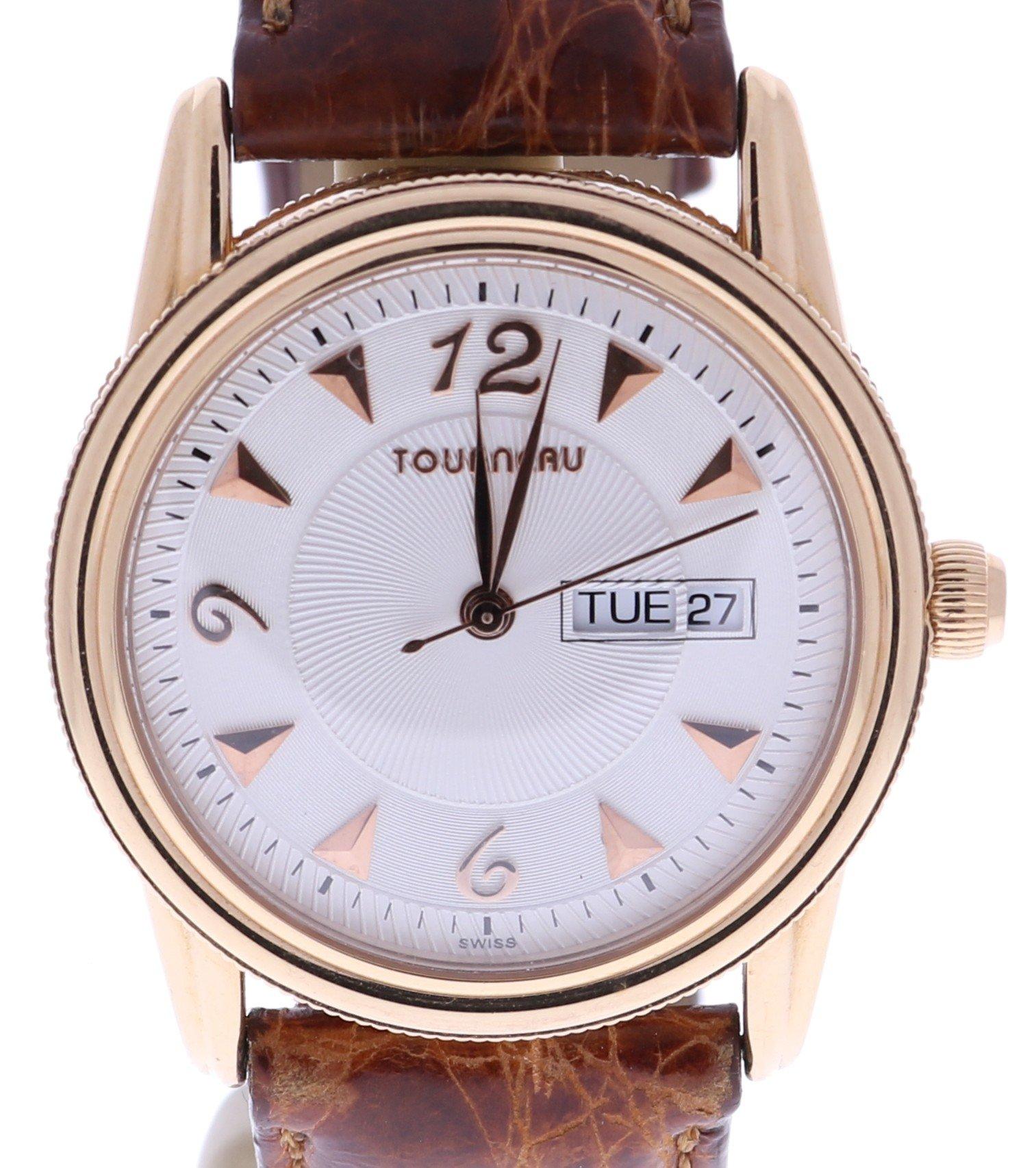 Tourneau quartz mens Watch 2078MI (Certified Pre-owned)