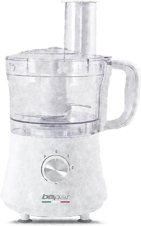 Beper 90.470b – Robot de cocina blanco 500 W: Amazon.es: Hogar