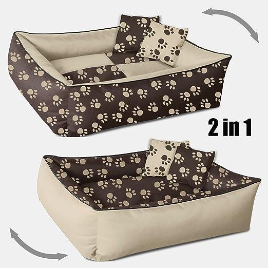 156 opinioni per Beddog 2in1 MAX QUATTRO beige/marrone XXL, 120x85 cm, letto per cane L fino a