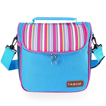 tagvo insulated cooler bag with removable inner liner box freezable cooler lunch tote with detachable