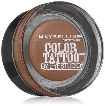 Amazon.com : Maybelline New York Eyestudio ColorTattoo Metal 24HR ...