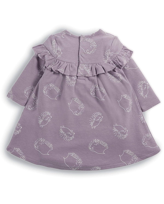 Mamas and Papas Hedgehog Print Frill Dress Vestito Bimba