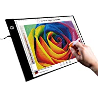 A3 LED Tracing Board, LED Light Box Ideal for 5d Diamond Painting, DIY Arts & Crafting, Quilting, Animation Drawing…
