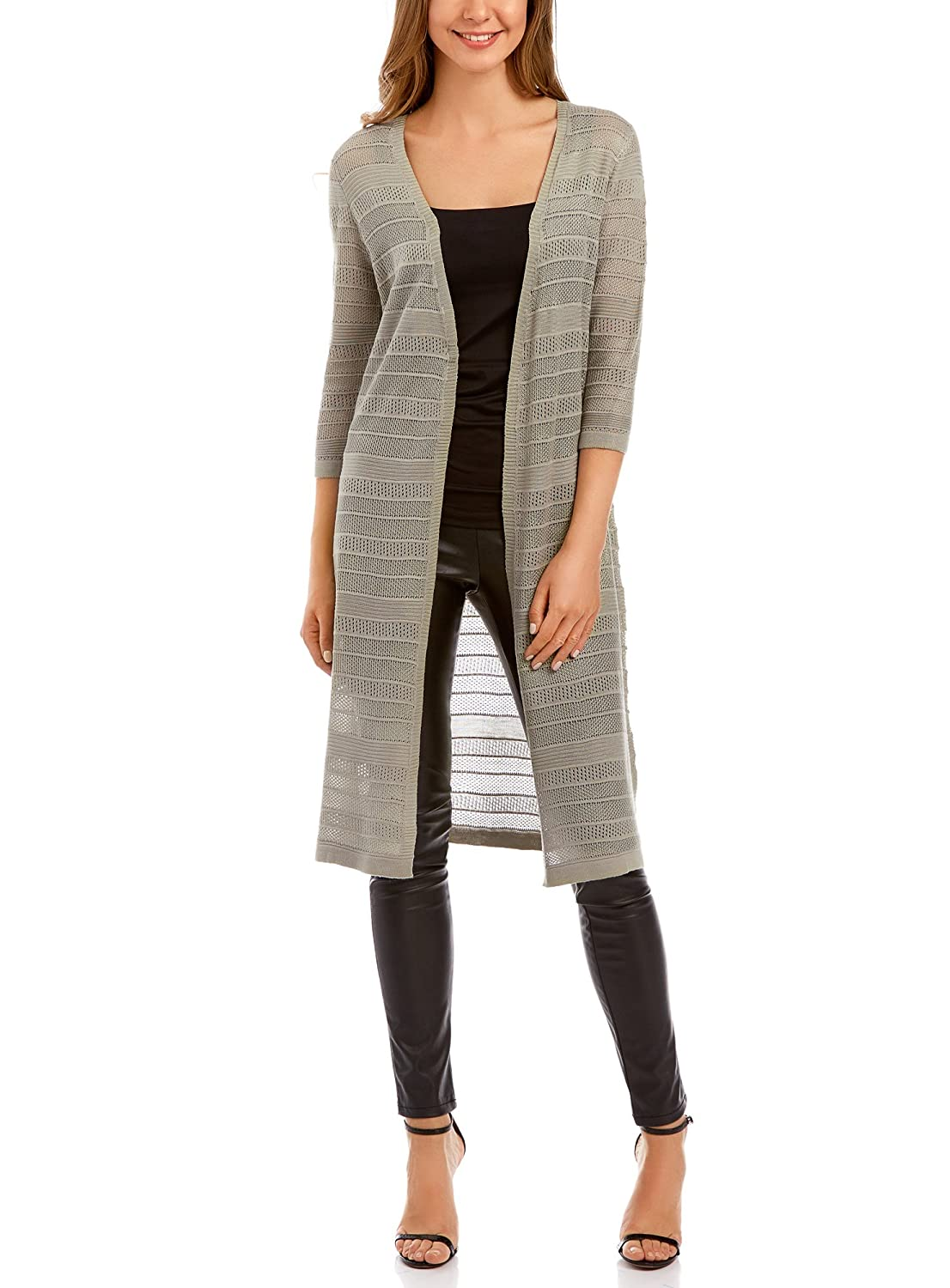 oodji Collection Donna Cardigan Lungo Traforato RIFICZECH s.r.o. 73212395