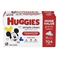 Deals on 1408-Count HUGGIES Simply Clean Fragrance-free Baby Wipes