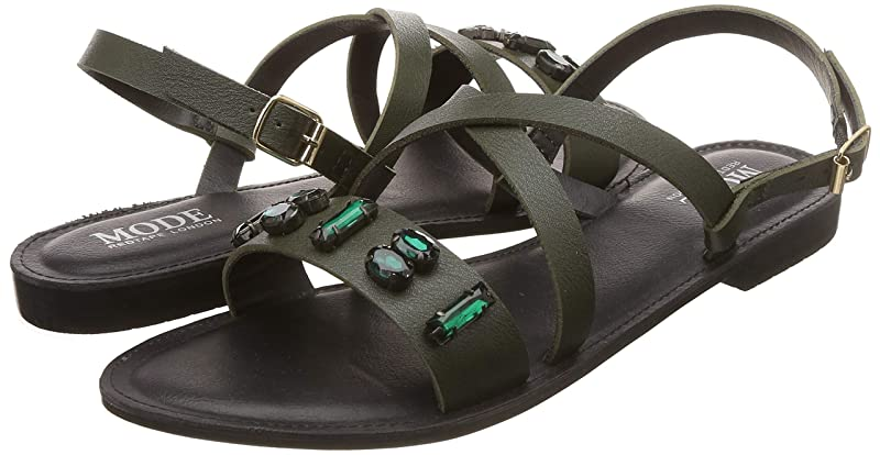 Mode By Red Tape women Fashion Sandals up to 88% off at Amazon