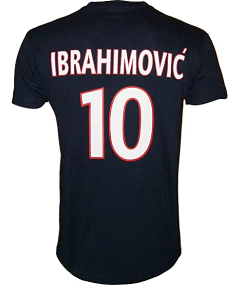 T-shirt - Zlatan IBRAHIMOVIC - N°10 - Collection officielle - PARIS SAINT 1b515db3185