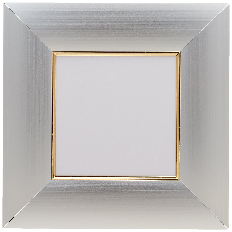 アルナ アルミ 額縁 正方形 DL 面金付シルバー 150x150 15171 B06XRL99MF 150x150|シルバー (面金付) シルバー (面金付) 150x150