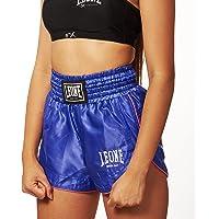 Leone 1947 AB801 Pantalones Cortos de Kick-Thai, Mujer