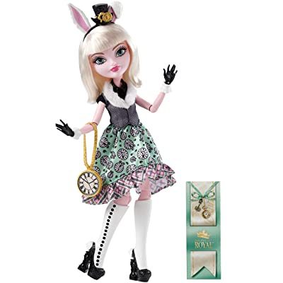 Ever After High Bunny Blanc Doll: Toys & Games