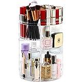 Kootek Rotating Makeup Organizer - 360 Spinning Makeup Storage Rack Adjustable Swivels Cosmetic Organizers Brush Holder Large