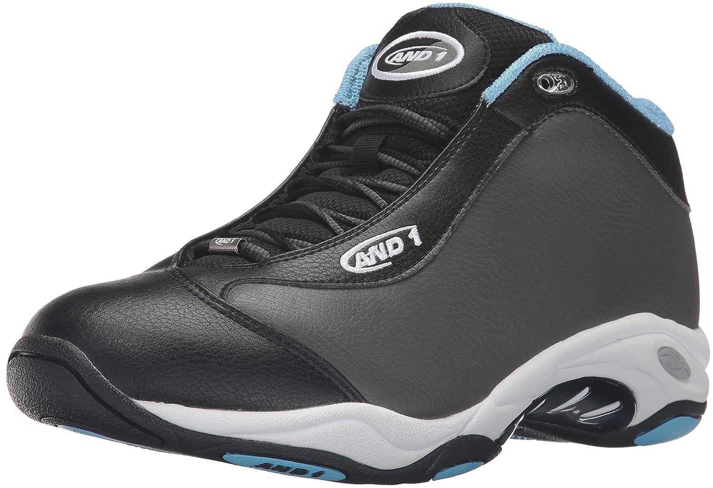 AND1 Men's Tai Chi Basketball Shoe B01AHRJ47A 9 D(M) US Gunmetal/Black Alaskan/Blue