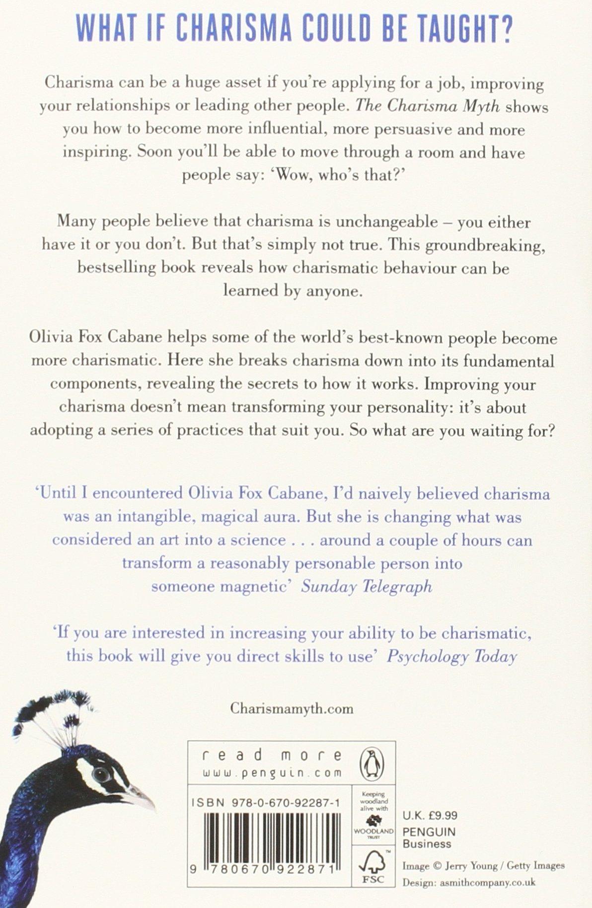 Charisma myth pdf