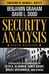 Security Analysis: Sixth Edition, Foreword by Warren Buffett (Security Analysis Prior Editions) (English Edition) eBook Kindle