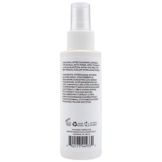 Simply Dana CoQ10 Misting Toner Antioxidant Toner with Botanical Extracts 4 fl. oz. (120ml) Eminence Organic Skincare Tomato Day Cream SPF 16  2 Fluid Ounce