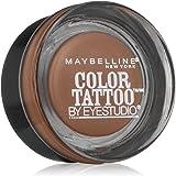 Maybelline New York Eyestudio ColorTattoo Metal 24HR Cream Gel Eyeshadow, Tough as Taupe, 0.14 Ounce (1 Count)