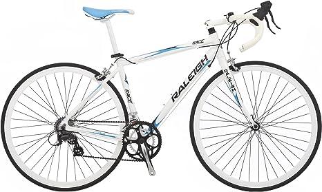 Raleigh RACE47WH - Bicicleta de Carretera para Hombre, Talla XS (155-160 cm), Color Negro: Amazon.es: Deportes y aire libre