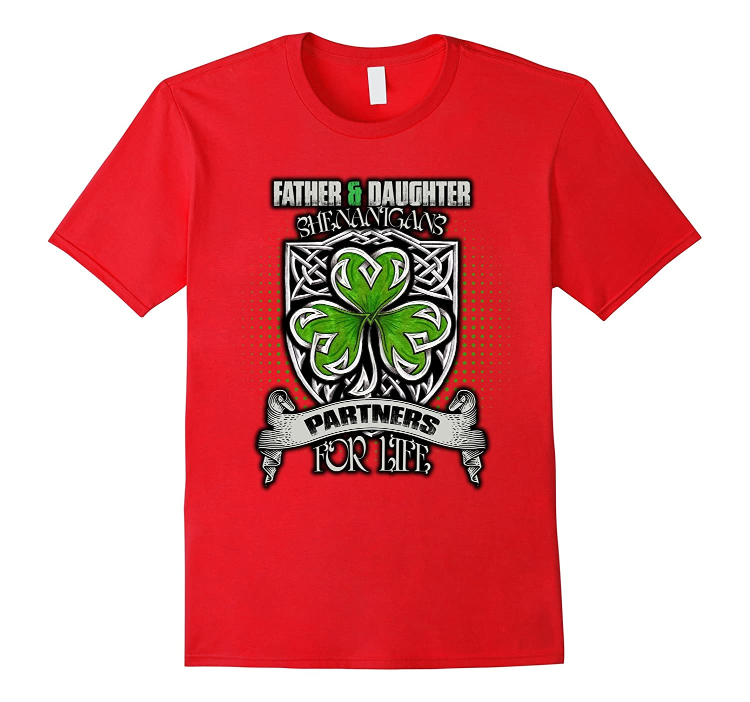 41ada207 Father Daughter Shenanigans St Patricks Day T-Shirt-TD – Teedep