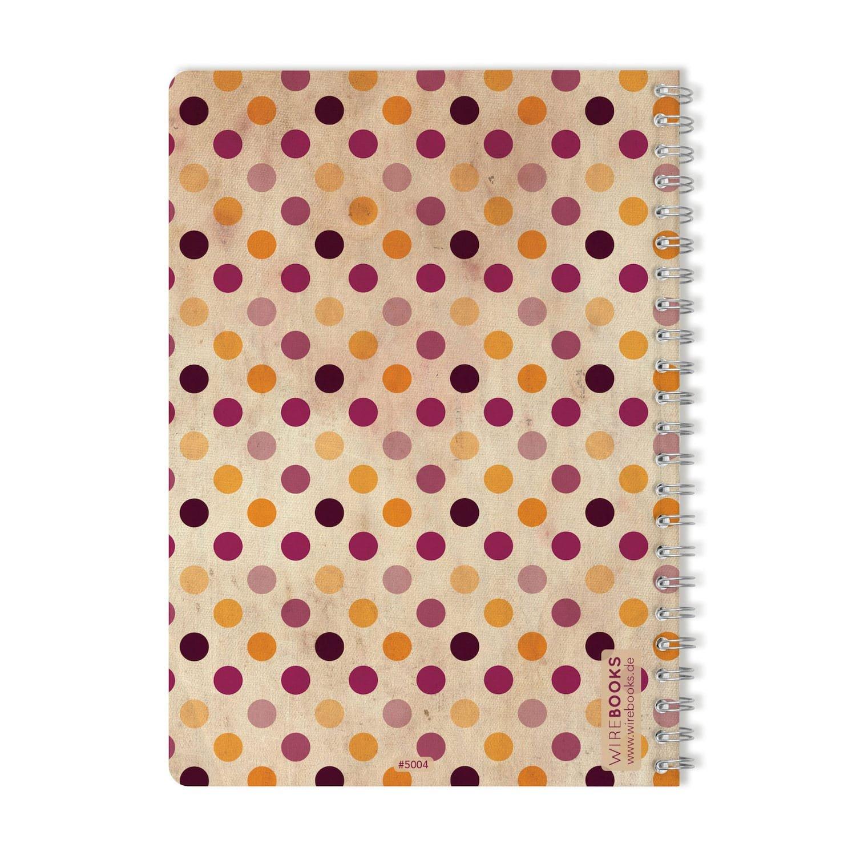 quaderno taccuino WIREBOOKS 5057 DIN A5 120 pagine 100g in carta bianco Bloc notes