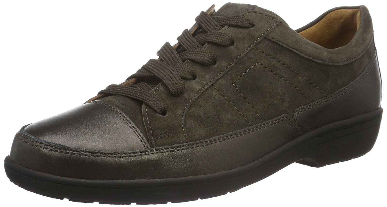 Ganter Anke, Weite G, Zapatos de Cordones Derby para Mujer 42 EU|Verde - Grün (Bronce / Fango 7056)