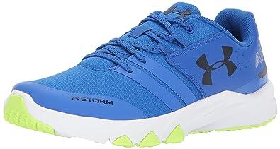 3de4aaeb1 Under Armour Boys' Grade School Primed X Athletic Shoe, Ultra Blue (907)