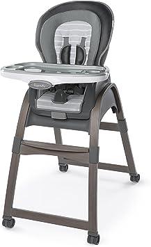 OPENED BOX Ingenuity Trio 3-in-1 Ridgedale High Chair Grey