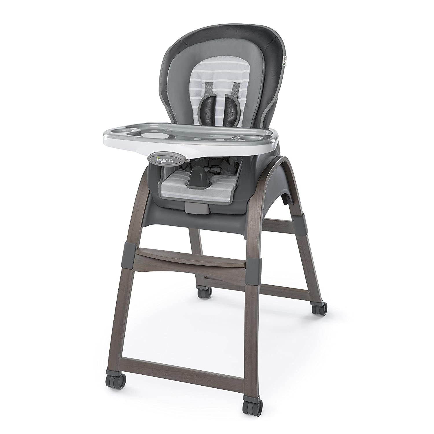 Ingenuity Trio 3-in-1 Wood High Chair - Ellison Kids II - (Carson CA)-FCA CNSNZ 10394-1