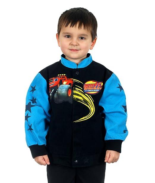 b71849492 Amazon.com  J.H. Design Kids Blaze and Monster Machine Jacket a ...