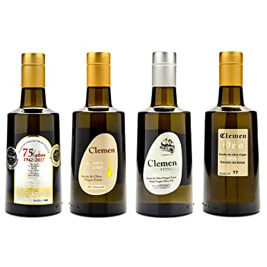 Aceite de Oliva Virgen Extra Clemen 500 mL Gourmet Pack 6 Unidades