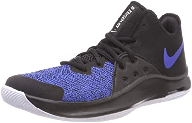 new style 8d629 f9a3d Nike Unisex Adults  Air Versitile Iii Basketball Shoes, Black (Black Game  Royal
