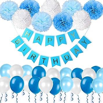 Decoración Cumpleaños, 1 Pancartas para fiestas Happy ...