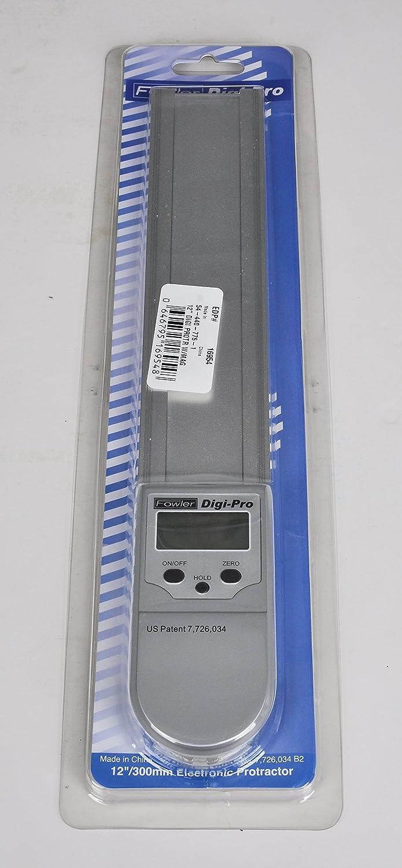 Fowler Full garantía 54 - 440 - 775 - 1 digital-pro Electronic Transportador, 12 cm de largo: Amazon.es: Amazon.es