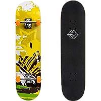 Skateboard retro 76 cm / 30 tum minikryssare äkta trä kinesisk lönn perfekt komplett bräda vintage trä skateboards