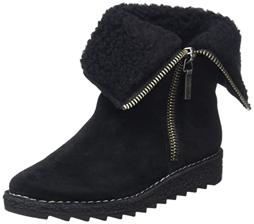 7888d2f319da Clarks Women s Olso Beth Black Boots - 3.5 UK India (36 EU)  Buy ...