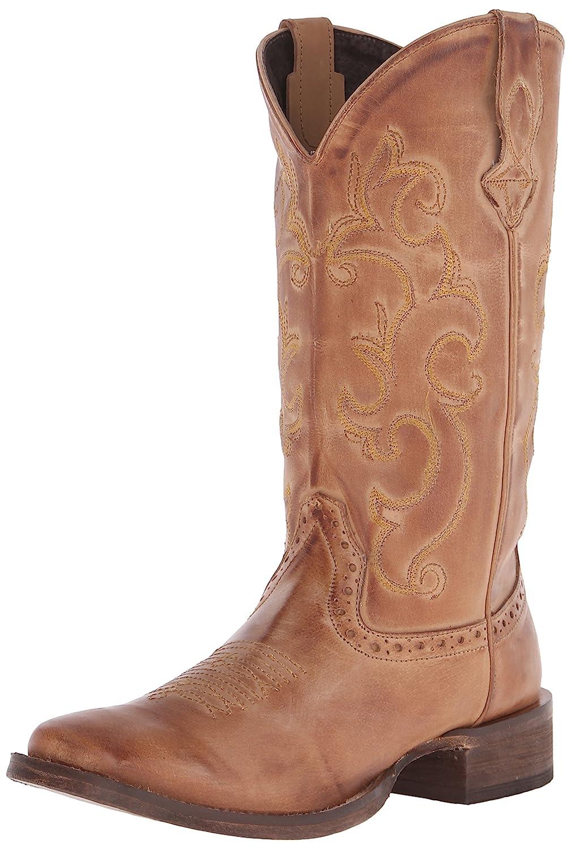 Roper Women's Classic Cowgirl Western Boot B00U9Y37ZW 9.5 B(M) US|Tan