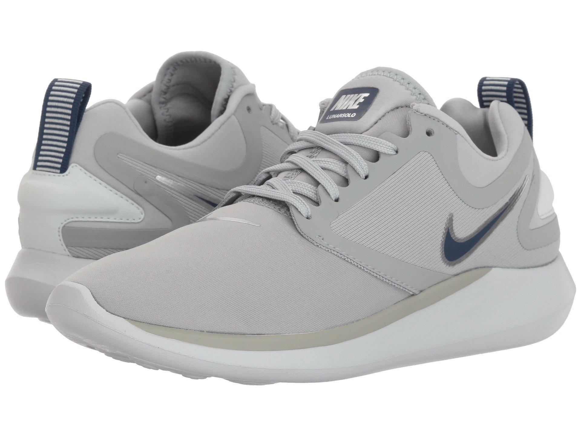 52b771c5b45 Galleon - NIKE Women s LunarSolo Lt Light Pumice Navy-Barely Grey Running  Shoes (9.5 B US)