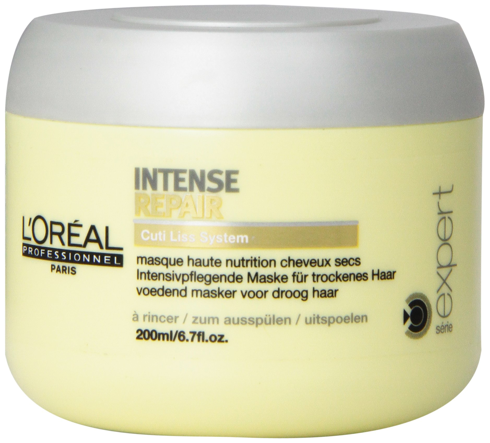 L'oreal Serie Expert Intense Repair Masque for Dry Hair, 6.7 Ounce by L'Oreal Paris (Image #1)