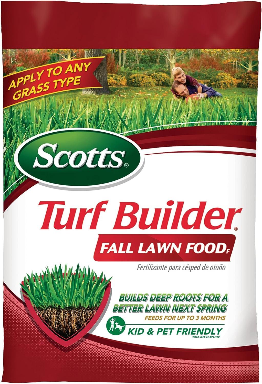 Scotts 38620 Turf Builder Fall Lawn Food-Florida Fertilizer, 5,000 sq. ft