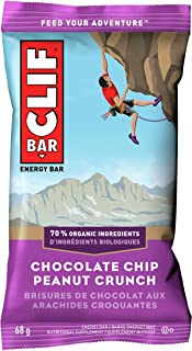 product image for CLIF BAR - Energy Bar - Chocolate Chip Peanut Crunch - (68 Gram Protein Bar, 12 Count)